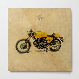 750 GT 1973 classic motorcycle Metal Print