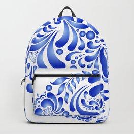 Gzhel pattern Backpack
