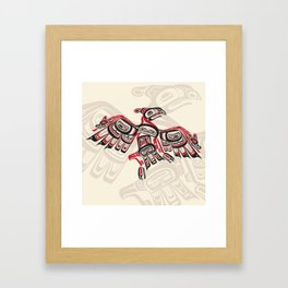 Salish Thunderbird Framed Art Print