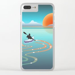 Exploring Crystal Cove Clear iPhone Case