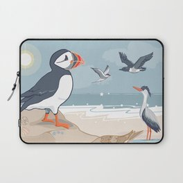 Coastal Birds By The Sea Laptop Sleeve