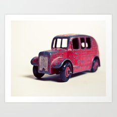 Red Classic Art Print