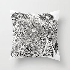 Inwards Throw Pillow