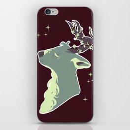 Mint Chip Deer iPhone Skin