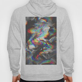 707   abstract paint pattern texture concept color colorful glitch psychedelic marble wavy distort l Hoody