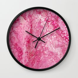 Pink Parfait Wall Clock