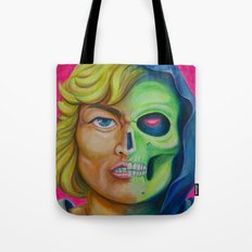 He-man & Skeleton Tote Bag