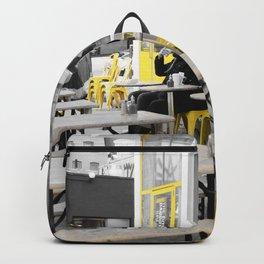 Yellow NYC Backpack