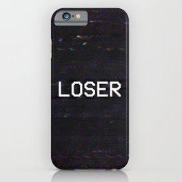 LOSER iPhone Case