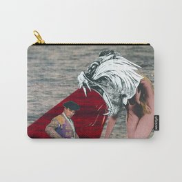 Against the bull fighter Carry-All Pouch