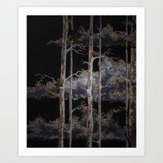 In The Brush Art Print