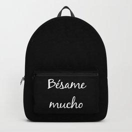 Besame mucho Black Backpack