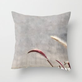 brentwood weeds Throw Pillow
