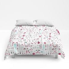 8bit Love Comforters