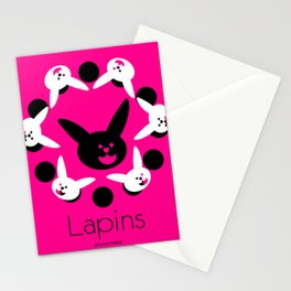 Les lapins 2 Stationery Cards