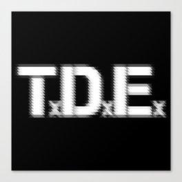 TDE - Top Dawg Entertainment - Kendrick Lamar Canvas Print