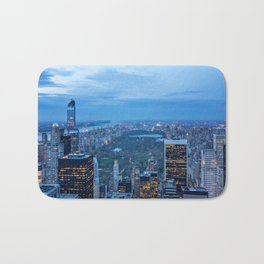 New York City and Central Park Bath Mat