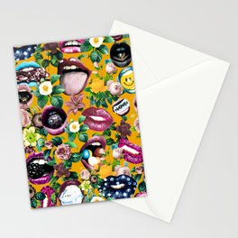 Sexy Floral Garden Stationery Cards