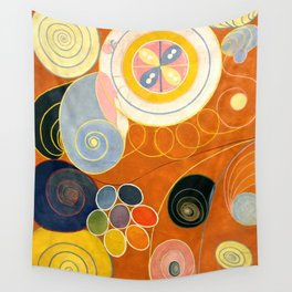 "Hilma af Klint ""The Ten Largest, No. 03, Youth, Group IV"" Wall Tapestry"