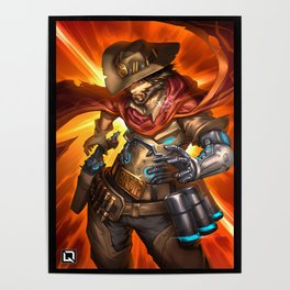 over mccree Poster