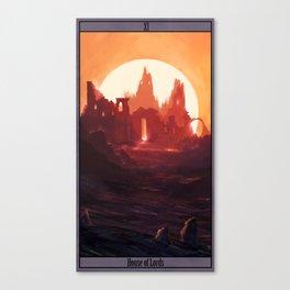 Fantasy Ruins Canvas Print
