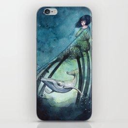 Ocean's lullaby iPhone Skin