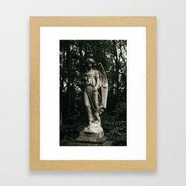 Highgate Cemetery Framed Art Print
