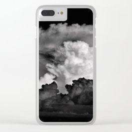 storm clouds ! Clear iPhone Case