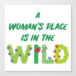 Women in the Wild Canvas Print