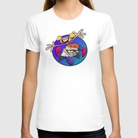 lab T-shirts featuring Dexter's Lab! by InvaderDig