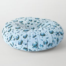Drip Drop Floor Pillow