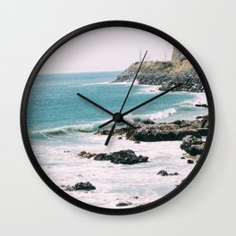 Highway 101 California Wall Clock