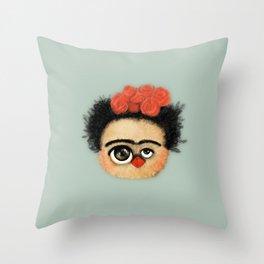 """""""Pies para qué los quiero si tengo alas para volar""""  (Frida Kahlo) Throw Pillow"""