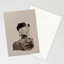 FRIDA - SHIRT version - sepia Stationery Cards