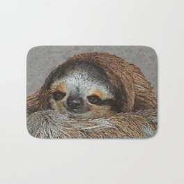 SLOTH LOVE Bath Mat