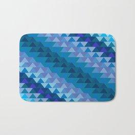 Digital Waves Bath Mat