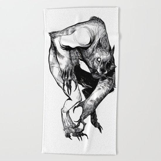 The Werewolf Beach Towel