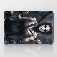 tomb raider iPad Cases featuring Tomb Raider by Max Grecke