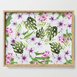 Tropical pattern Serving Tray