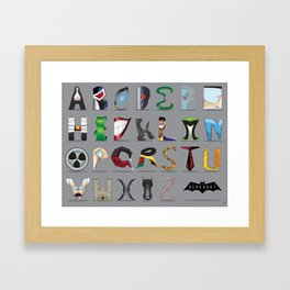 The Alphabat - Horizontal Pro Framed Art Print
