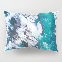 Epic Crashing Waves (Color) Pillow Sham