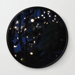 Tree Lights Wall Clock