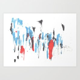 forest and person Art Print