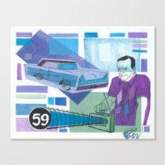 Profilactic Canvas Print