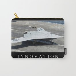 Innovation: Inspirational Quote and Motivational Poster Carry-All Pouch
