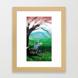 Finally spring Framed Art Print