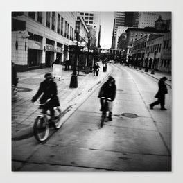 Street Rhythm Canvas Print
