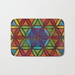 The Flower of Life (Sacred Geometry) 3 Bath Mat