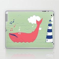 The Singing Whale Laptop & iPad Skin
