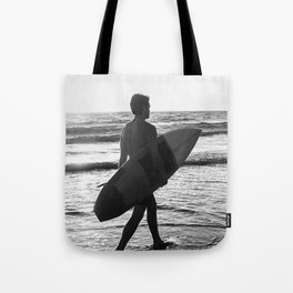 Surf Man Tote Bag